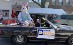 The Easter Bunnys visit to Pelham was one of the marketing efforts supported by the Chamber of Commerce in the past year.