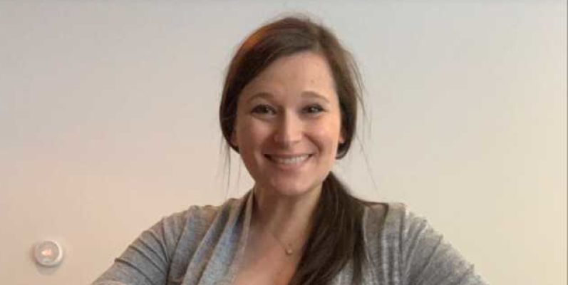 Appointment angel: Pelham resident Caitlin Mattina helps people sign up for vaccinations