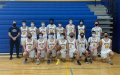 The PMHS boys varsity basketball team.