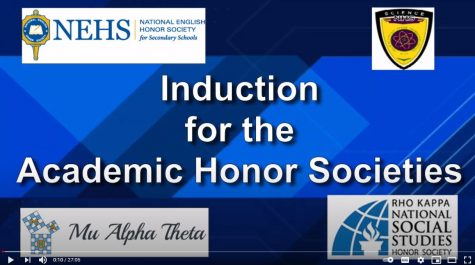 Video: PMHS Science National Honor Society welcomes inductees, officers