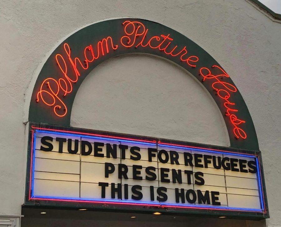 Attendance at high school club's refugee night hampered by Covid-19 restrictions
