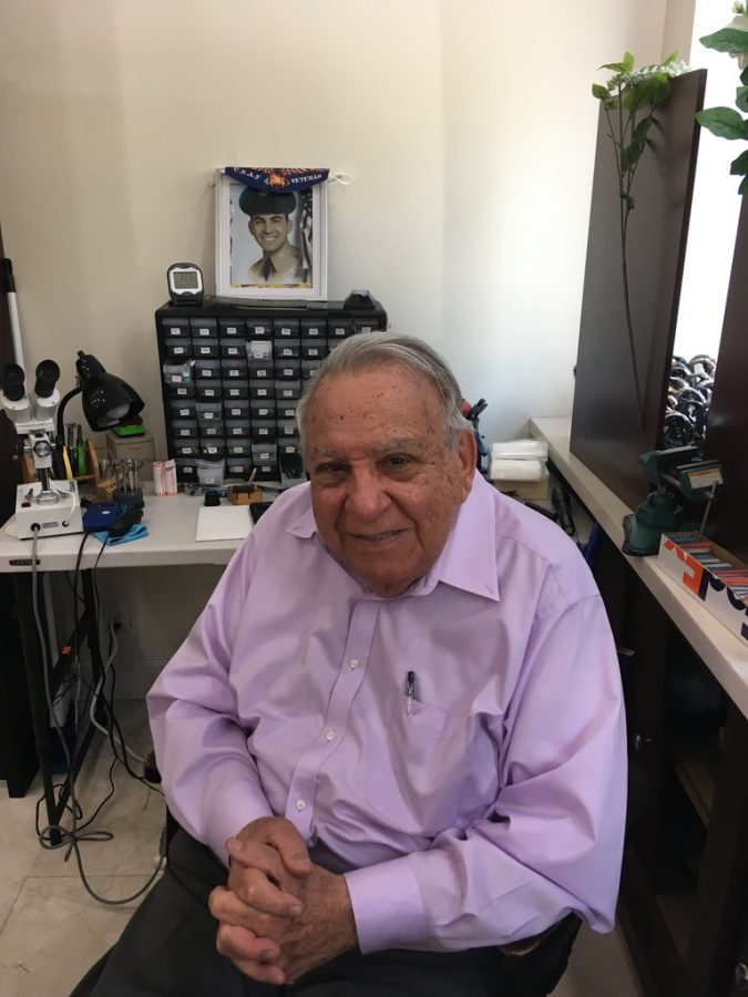 Bob LaGravinese at his work station