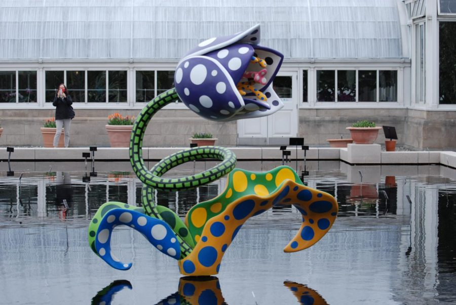 Foto Feature: New York Botanical Gardens opens new exhibit by artist Yayoi Kusama