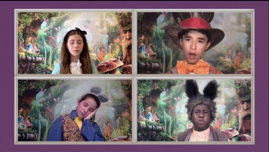 PMS Drama Clubs Alice in Wonderland available on-demand Thursday-Monday