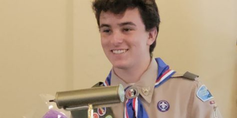 Caleb Persanis of Troop 1 Pelham achieves rank of Eagle Scout