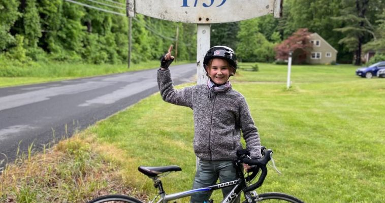Fifth grader Maggie Reid pedals 85 miles, raises $4,000 for Feeding Westchester