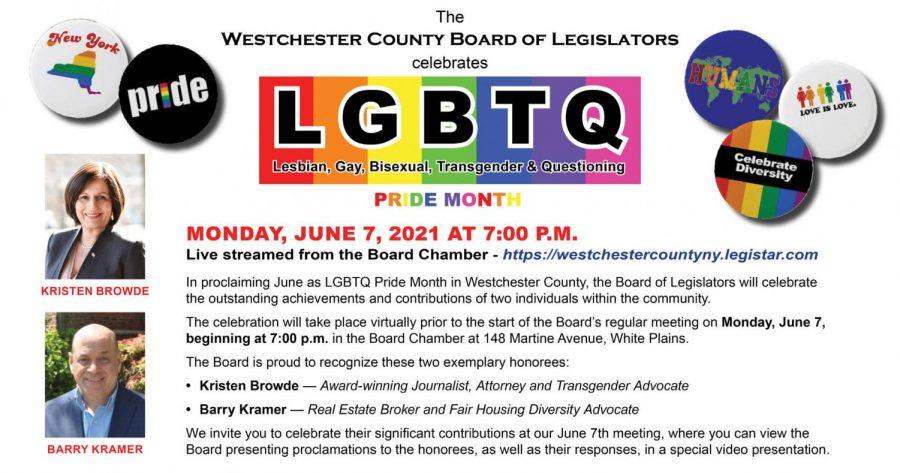 County+legislature+to+live+stream+celebration+of+LGBTQ+Pride+Month+on+Monday