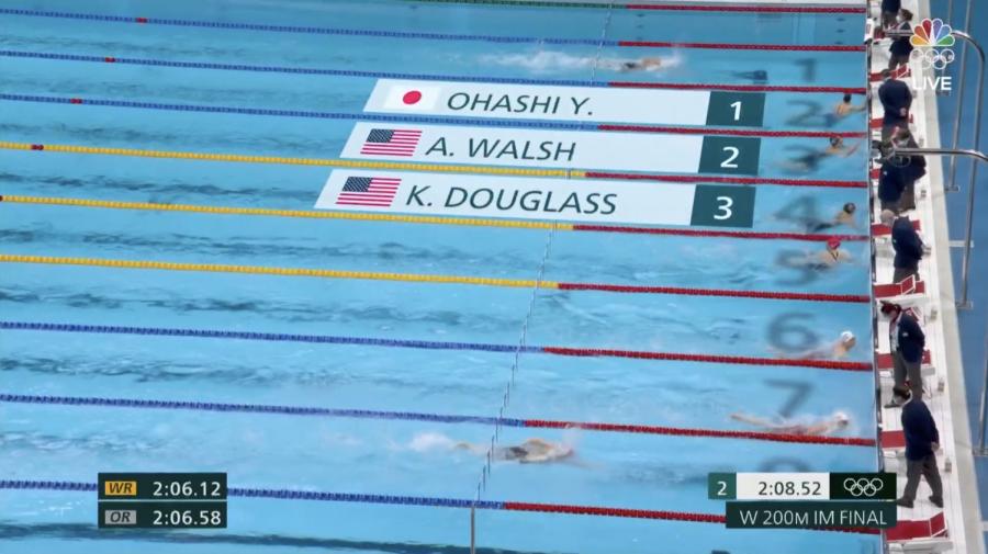 Video: Watch Kate Douglass race to take bronze