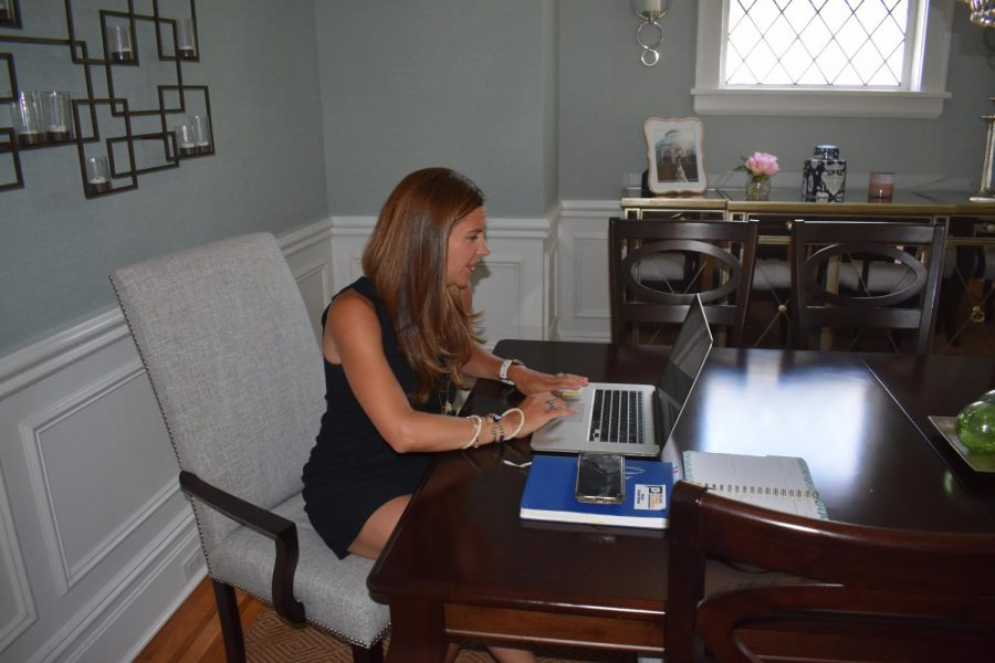 Cristina Chianese, president of the Pelham Chamber of Commerce since September, created programs to boost businesses during the Covid-19 pandemic.