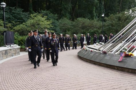 Westchester marks 20thanniversary of 9/11 with unveiling of memorial to first responders