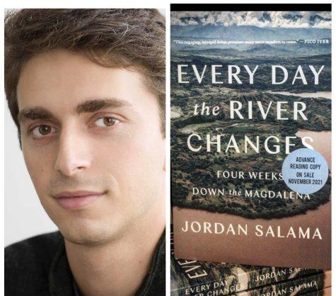Jordan Salama and his new book.