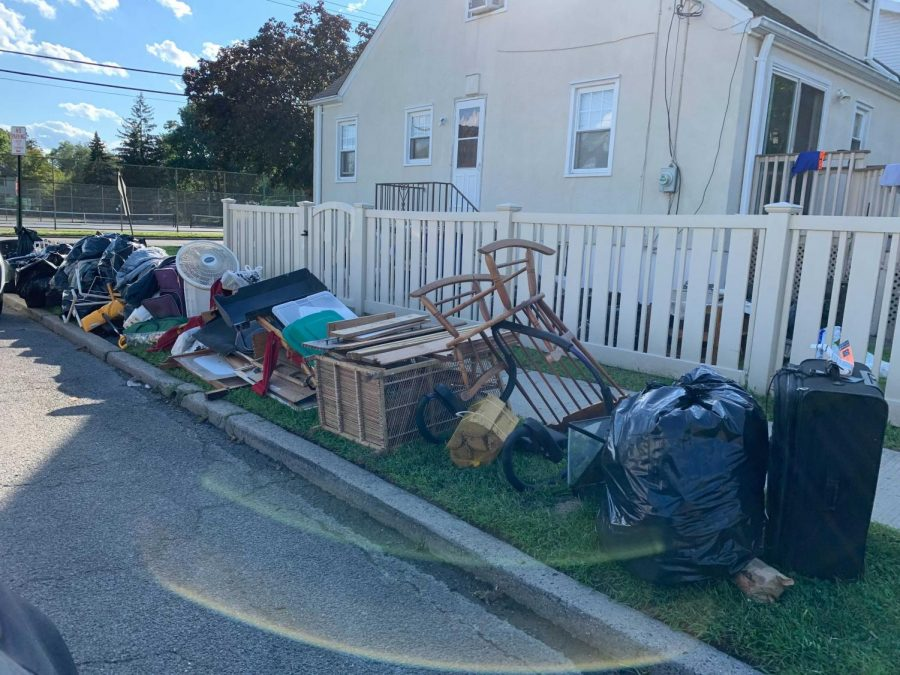The flooding destroyed basements full of household good in Pelham, with pickups by the villages on going.
