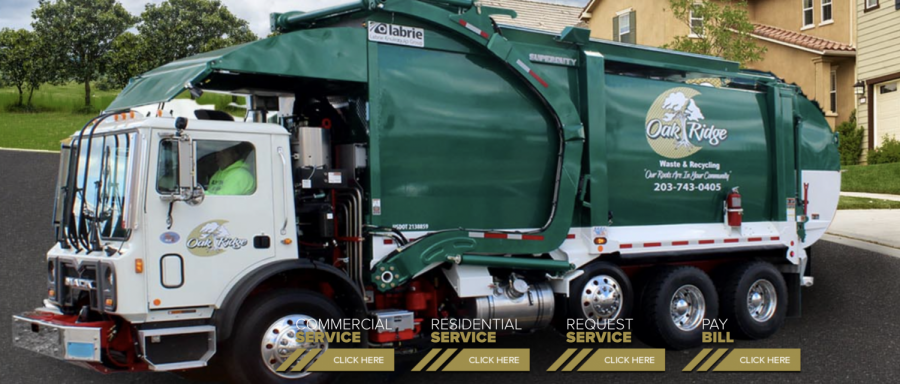 Oakridge Waste & Recycling trucks will be replaced by village-owned and operated vehicles by December 2022 under current plans.