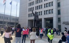 Energized moments from the Westchester Womens March against Texas abortion law