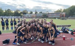PMHS field hockey after defeating Pleasantville 6-0.