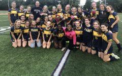 PMHS girls soccer celebrates senior night